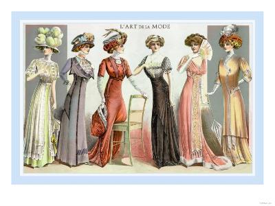 L'Art de la Mode: Six Refined Fashions