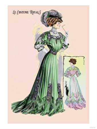 Le Costume Royals: Emerald Charm