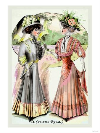Le Costume Royals: Magnificence in Springtime