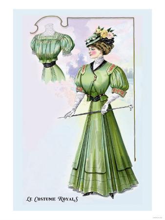 Le Costume Royals: Stylish Emerald