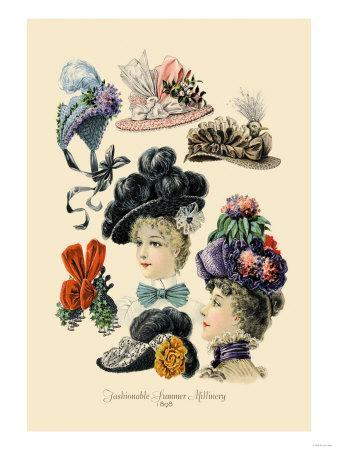 Fashionable Summer Millinery