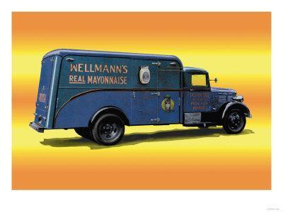 Wellmann's Mayo Truck