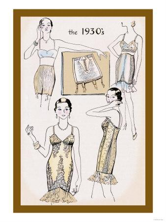 New Fabrics and Fit of the 1930