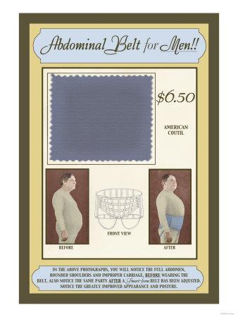 Abdominal Belt for Men!