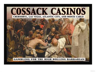Cossack Casinos: Gambling for the High Rolling Barbarian