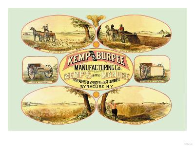 Kemp's Patent Manure Spreader