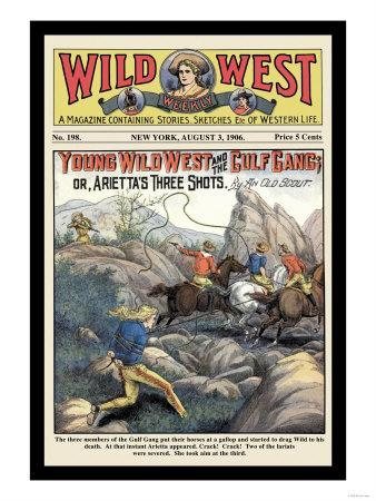 Wild West Weekly: Young Wild West and the Gulf Gang