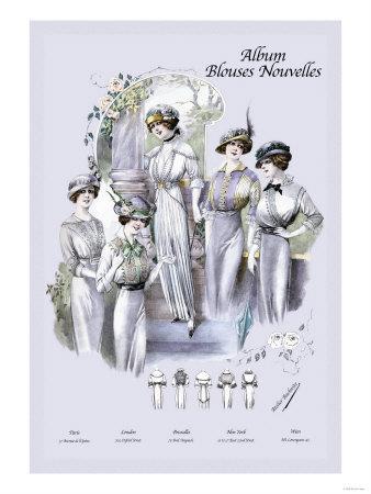 Album Blouses Nouvelles: An Elegant Morning