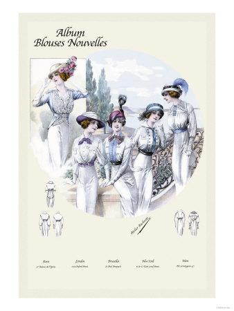 Album Blouses Nouvelles: Styles for a Friday
