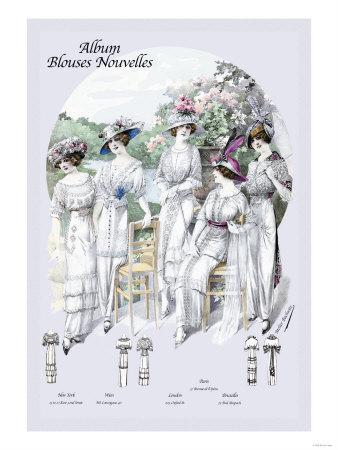 Album Blouses Nouvelles: For a Morning Event
