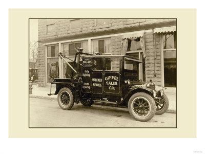 Wrecker Service Truck