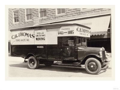 C.B. Thomas Moving Truck
