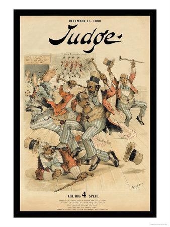 Judge Magazine: The Big 4 Split