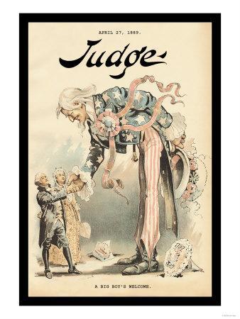 Judge Magazine: A Big Boy's Welcome