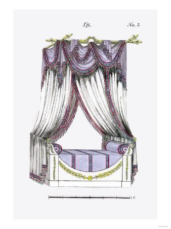 French Empire Bed No. 5