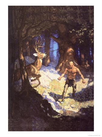 Inncus Slays the Deer