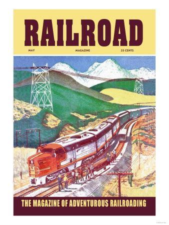 Railroad: The Magazine of Adventurous Railroading, 1954