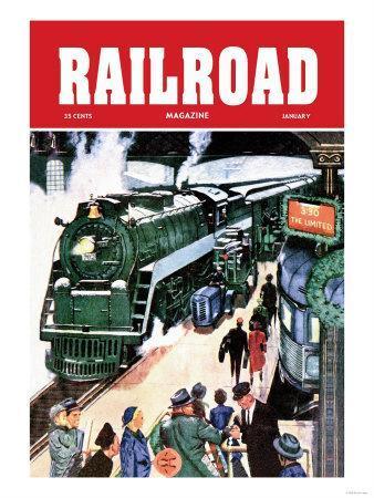 Railroad Magazine: The Limited, 1952