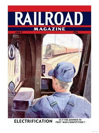 Railroad Magazine: Electrification, 1944