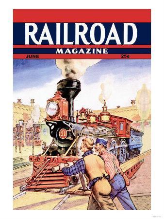 Railroad Magazine: Working on the Railroad, 1943