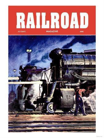 Railroad Magazine: Through the Night, 1950