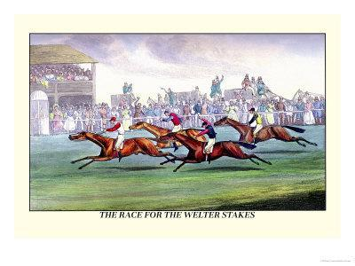 The Race for the Welter Stakes