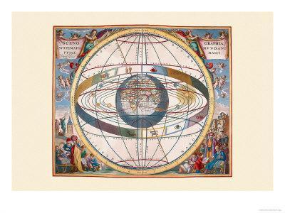 Scenographia Systematis Mundani Ptolemaici