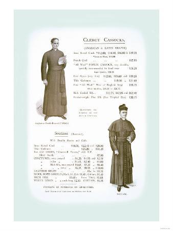 Clergy Cassocks