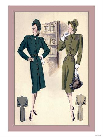 Tailored Dress and Chic Dress