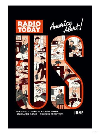 Radio and Television Today: America Alert!