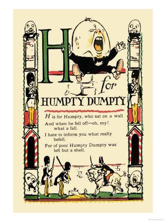 H for Humpty Dumpty