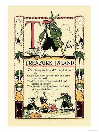 T for Treasure Island