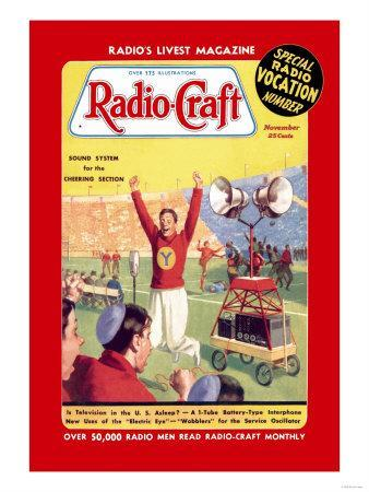 Radio Craft: Sound System for the Cheering Section