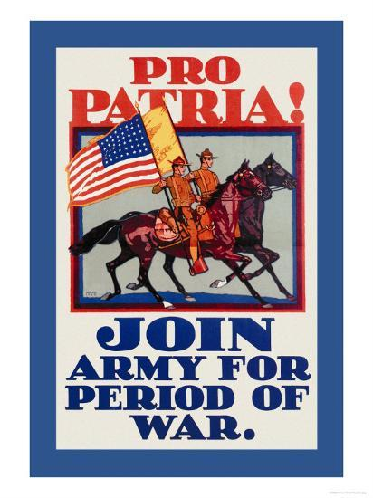 Pro Patria Join Army For Period Of War Prints H Devitt Welsh Allposters Com