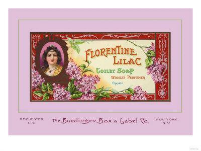 Florentine Lilac Toilet Soap