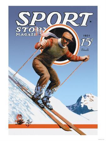 Sports Story Magazine, 1931