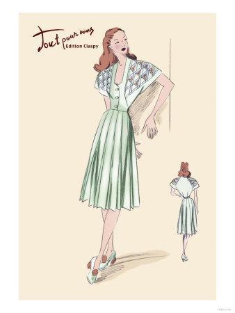 Pleated Summer Dress