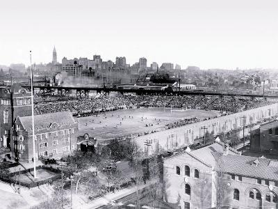 Football Game at Franklin Field, Philadelphia, Pennsylvania