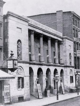 Chestnut Street Theatre, Philadelphia, Pennsylvania