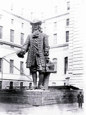 Statue of William Penn in Courtyard of City Hall, Philadelphia, Pennsylvania