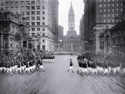 Parade on South Broad Street, Philadelphia, Pennsylvania