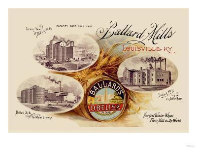 Ballard's Obelisk Flour