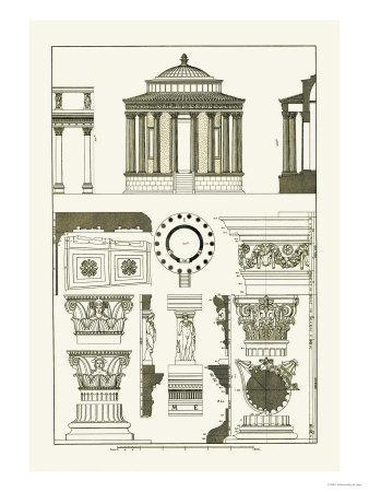 Temple of Vesta at Tivoli, Incantana at Salonichi