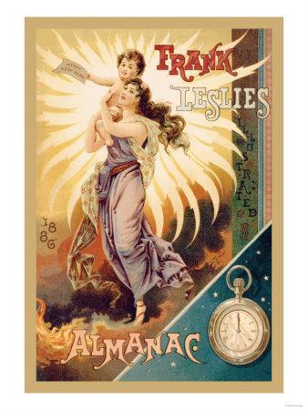 Frank Leslie's Illustrated Almanac: Happy New Year, 1886