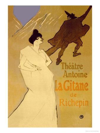 La Gitane de Richepin: Theatre Antoine