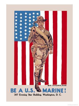 Be a U.S. Marine, Evening Star Building