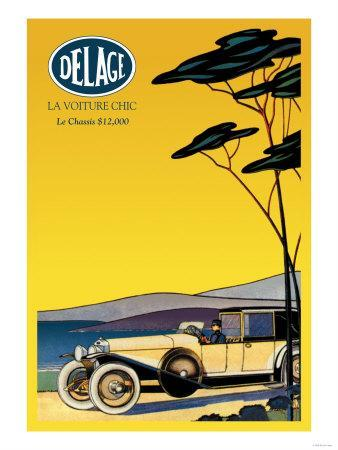 Delage, Out for a Drive