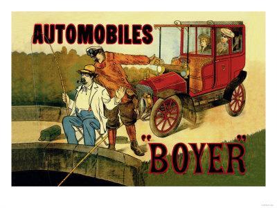 Boyer, Automobiles