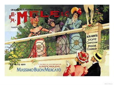 The Great Italian Store and Emporium, E. A. Mele