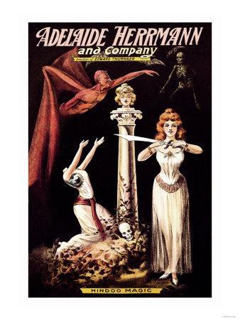 Adelaide Herrmann and Company: Hindoo Magic